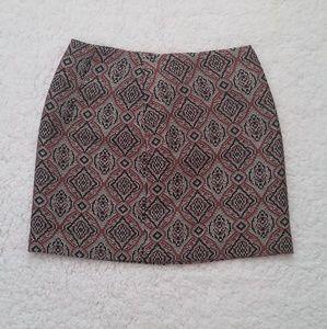 H&M Patterned short skirt